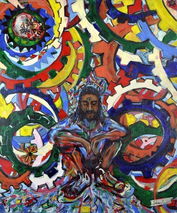 Portrait of Urban Mystic by Johnny Dollar